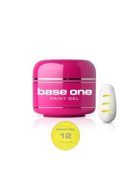 Гел за рисуване Base One Жълто 0.5 g